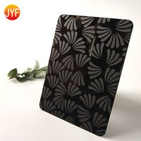 black etched stainless steel sheet