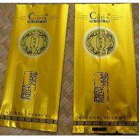 Matte printing plastic tea bags/side gusset aluminum foil bag