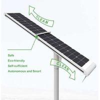 4000LM 50W Solar LED street light Irobot (Self cleaning) thumbnail image