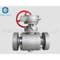 High pressure forged steel ball valves