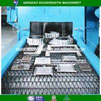 Quality assurance Wire Mesh Belt Shot Blasting Machine HQWD Series