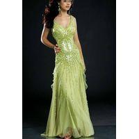 new style designer beaded evening dress / prom dress