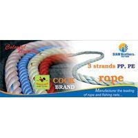 3 Strands Polypropylene Braided Rope thumbnail image