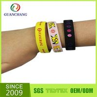 Wholesale fashionable souvenior polyester wristbands for events