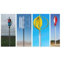 Maglev Vertical Axis Wind Turbine (Maglev VAWT) 300w-100Kw thumbnail image