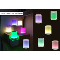 Touch change Lamp's colors Bluetooth Speaker with Hook