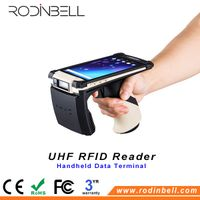 Android Bluetooth Handheld Data Terminal UHF RFID Reader with 3G/4G WiFi Function