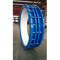 Double flange type limit expansion joint