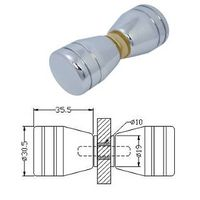 Glass Door Knob, GK-02BTB