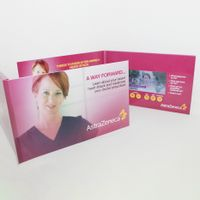Advertising Promotion LCD Video Brochure Card 4.3 inch Screen in Book Digital Catalog thumbnail image