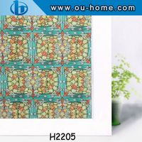 No-adhesive removable decorative window film lowe price