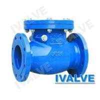 swing check valve flange end
