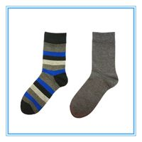 Men's Jacquard Casual Socks