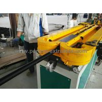 Single Wall Corrugated Pipe Extrusion Line, single layer pipe machine