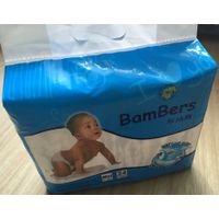 Elastic waistband OEM baby diapers wholesale in China