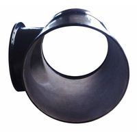 ISO2531/EN545 ductile iron pipe fittings