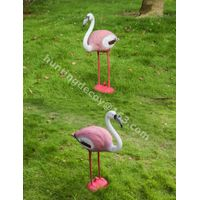 garden decoration hunting decoy flamingo plastic