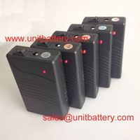 super light weight rechargeable lithium ion battery 12v 2800mah for LED strip light cctv camera