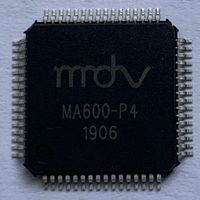 600bps vocoder chip