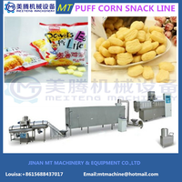 Fully Automatic Corn Puffs Snack Processing Line thumbnail image