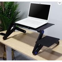 Adjustable and foldable laptop desk thumbnail image