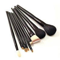 Hot sale 9 pcs makeup brush OEM ODM