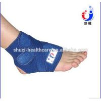 Sport Spandex Ankle Support Brace Foot Sleeves Heel Arch Support thumbnail image