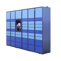 intelligent parcel delivery locker