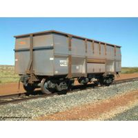 1:48 O scale model train- freight wagon