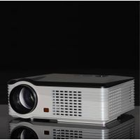 Cheapest OEM Rear Projector Multimedia Portable LCD Video Projector 2500Lms for Home Theater,native