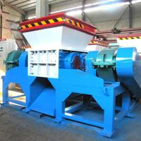 1t/h agriculture waste chipper shredder for wood/paper/plastic