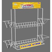 Professional custom metal  display rack for retail use