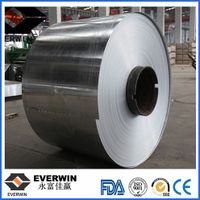 protective film and aluminum color coated coil