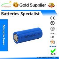 A Grade Quality Guaranteed ICR Li-ion 26650 3000mAh 3.7V Battery Manufacturer