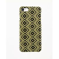 iPhone 7/8 Jacquard Yellow Carbon and Aramid fiber case thumbnail image