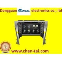 "2-Din Touch Screen 7"" TFT LCD Car DVD Player with digital screen(800*480) for toyota camry 2012"