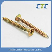 Zinc Plated Double Countersunk Pozi Head Chipboard Screw
