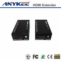 Black house 3D HD 1080P 60m Cat5e HDMI extender thumbnail image