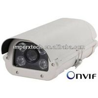 H.264 video compression 5MP bullet camera with POE support Onvif
