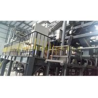 Household waste burning metal separation equipment