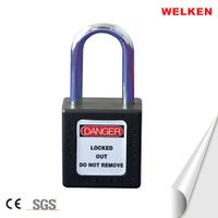 CE certification Stainless Steel Shackle Padlock