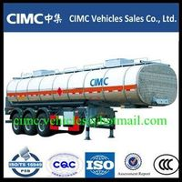 CIMC 3 axle fuel tank trailer