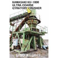 USED KAWASAKI MODEL KU-1000 (1000MM X 350MM) ULTRA COARSE GYRATORY CRUSHER S/NO. KG10177 thumbnail image
