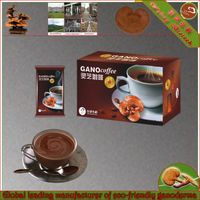 Healthy drink Chinese herbal ganoderma black coffee