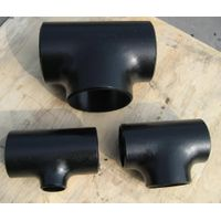 Carbon Steel Butt Weld Pipe Equal Tee Reducing Tee thumbnail image