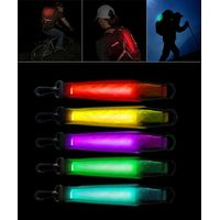Safety Light for Hiking Camping Easy Attached with Bag Backpack Accessories of Bag Led Light Strap