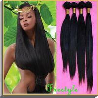 Brazilian virgin remy straight human hair extensions thumbnail image