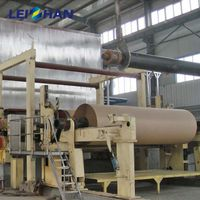 Complete waste carton cardboard recycling machine for paper making thumbnail image