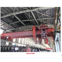 Electrolytic aluminum multifunctional crane