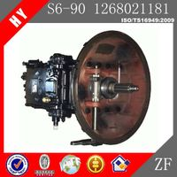 Chongqing Qijiang ZF Manual Gearbox for S6-90
